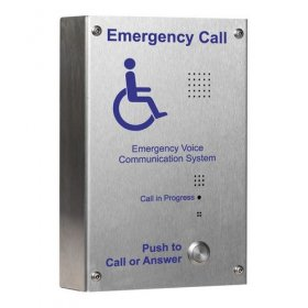 EVC302S: S/steel handsfree EVC?outstation, surface mounting