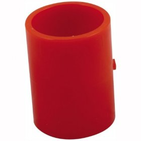 "01-10-9066: ABS005-1R Red 25mm - 3/4"" Reducing coupler (Single)"