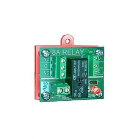 500-021R Easy Relay 24V 8A - Red - c/w Back Box