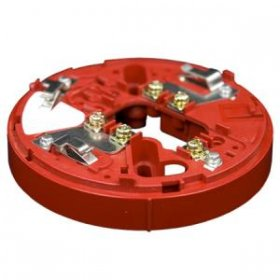 YBO-RSCI (RED) Isolator Sounder Base. Red