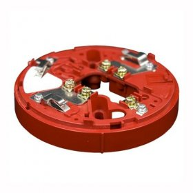 YBO-R/3 (RED) Sounder Mounting Base. Red