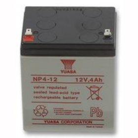 NP4-12: 12v Yuasa 4Ah Sealed Lead Acid Battery