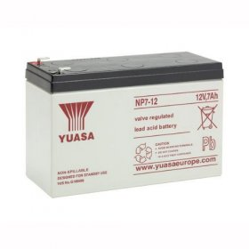 NP7-12 Yuasa 12v 7A/h Sealed Lead Acid Battery