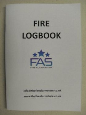 LOGBOOK A5 Fire Log Book A5