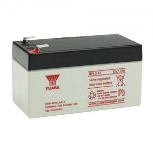 Y1.2-12 Yuasa Yucel 12v 1.2Ah Sealed Lead Acid Battery