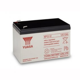 NP12-12 Yuasa 12v 12A/h Sealed Lead Acid Battery