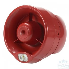 HFC-SBR-23-03 Conventional Sounder Beacon - Red (EN54-23)