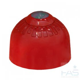 FC-323-CA2: FireCell Ceiling Beacon VAD Only (Red)