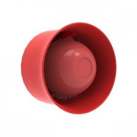 CHQ-WS2 Addressable Wall Sounder. Red