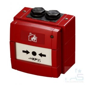 DM970: 950 Series I.S. Manual Call Point - RED without Flap