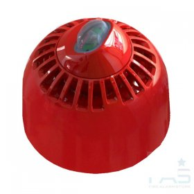 FC-315-WA2: FireCell Wall Sounder Beacon VAD Only (Red)