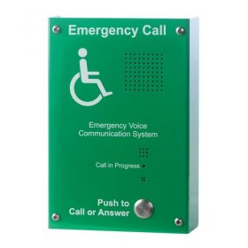 EVC302GS: Green Handsfree EVC Outstation, Surface Mounting