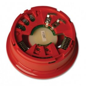 DB2368IAS-R: 2000 Series Base Sounder with Isolator - RED