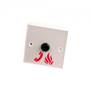 EVC301/JP: Single gang jack plate for use with EVC301/PH