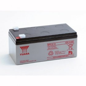 NP3.2-12 Yuasa 12v 3.2A/h Sealed Lead Acid Battery