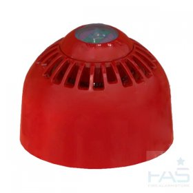FC-315-CA2: FireCell Ceiling Sounder Beacon VAD Only (Red)