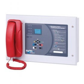 ECU-32: 32 line Desk control unit with handset and display