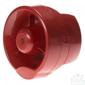 HFC-WSR-03 Conventional Wall Sounder - Red