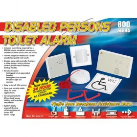 NC951STRIP: Disabled persons toilet alarm kit