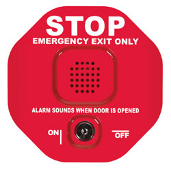 STI 6401: Exit Stopper with 15 sec delay/ continuous alarm