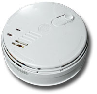 Ei181 Ionisation Smoke Alarm. Interconnectable. Built-in Relay