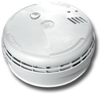 Ei186 Optical Smoke Alarm. Interconnectable. Built-in 1A Relay