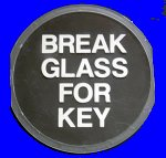 BBU2 Key Box Spare Plastic Glass