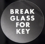 BBU3 Key Box Spare Glass (Round)