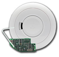 Ei605CRF RadioLINK Optical Smoke Alarm. 9V