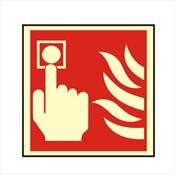 MCP SIGN Manual Call Point Sign Rigid